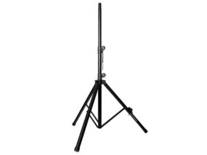 The Compact Speaker Stand is designed for venues where small portable PAs are routinely used.