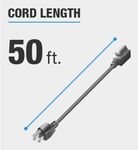 50 Foot Cord Length
