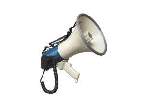 10W Handheld Powerhorn with Detachable Microphone